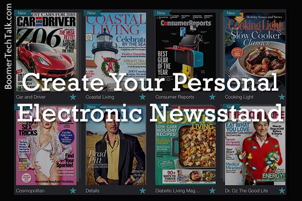 Next Issue Personal Electronic Newsstand by Ray Gordon